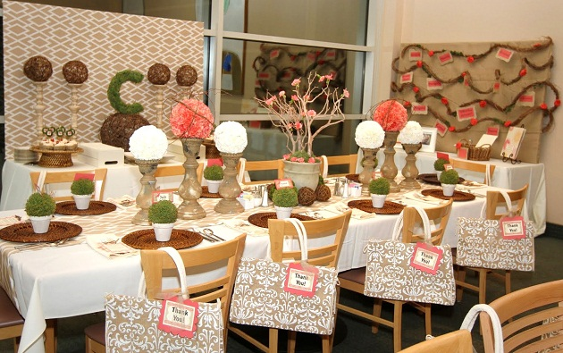 Beautiful Ladies Luncheon - Celebrations at Home