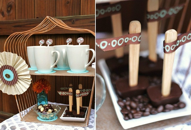 Entertaining : How To Set Up A Coffee Bar - Celebrations ...